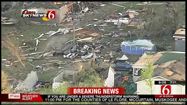 Osage SkyNews 6 Tours Quapaw, Baxter Springs Tornado Damage