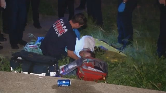 WEB EXTRA: Video From Tulsa Police Pursuit