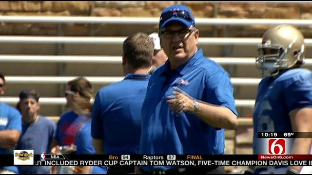 Wrapping Up The Tulsa Spring Game