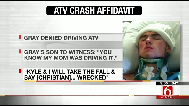 Arrests Made In ATV Crash That Nearly Killed Oklahoma Teen