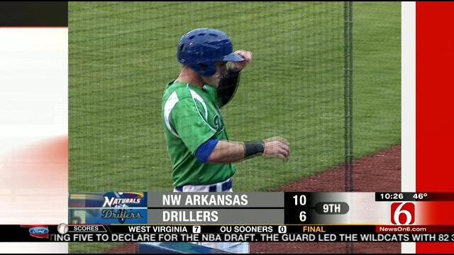 Drillers Lose To NW Arkansas
