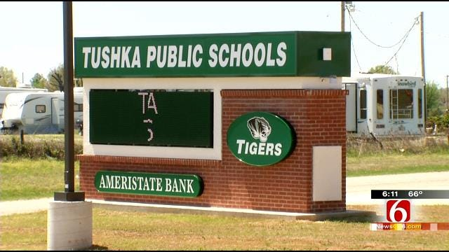 Construction Nearly Finished On Tushka School Destroyed By Tornado