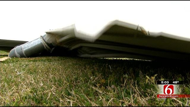 High Winds Leave Damage Behind In Owasso