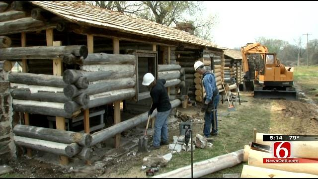 Historical Society Undertakes Project To Restore Original Fort Gibson