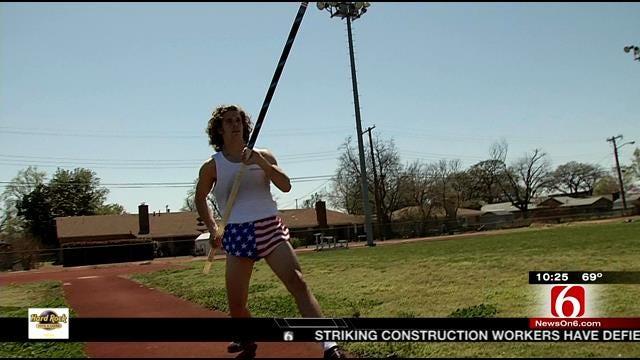 Jenks Pole Vaulter Reaching New Heights