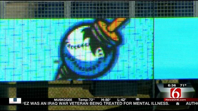 New Video Ribbon Board To Greet Tulsa Driller Fans At ONEOK Field