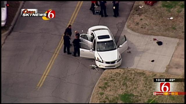 Police: Colorado Fugitive Shoots Girlfriend, Self In Midtown Tulsa