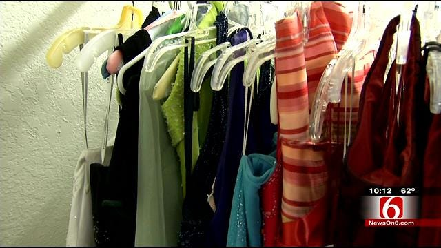 Caring Center Collects, Donates, Prom Dresses To Green Country Girls