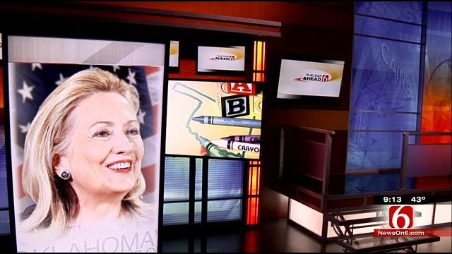Hillary Clinton In Tulsa Monday To Promote Education Initiative