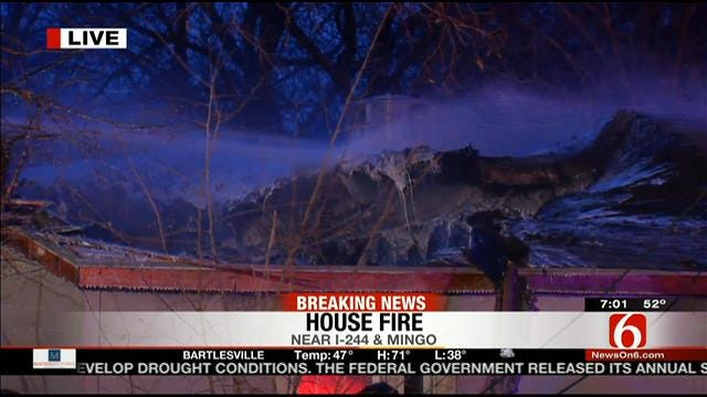 East Tulsa Home Badly Damaged By Fire