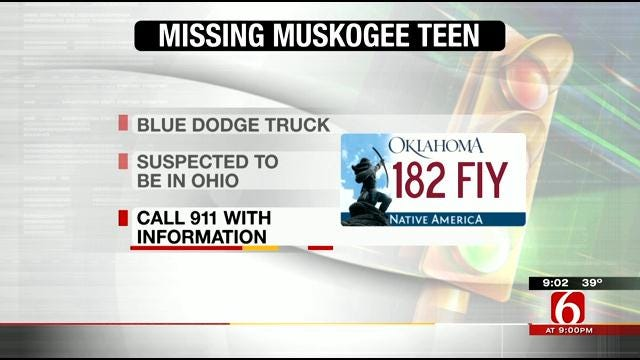 Family Of Missing Muskogee Teen Pleads For His Return