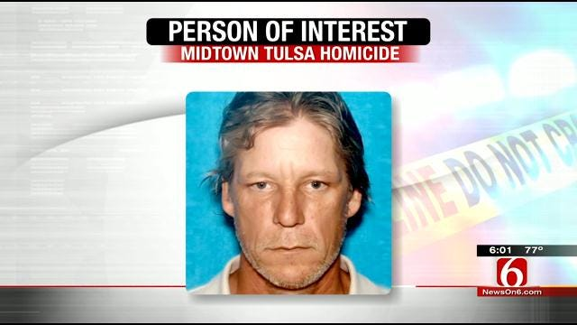 Police Identify Person Of Interest In Midtown Tulsa Homicide