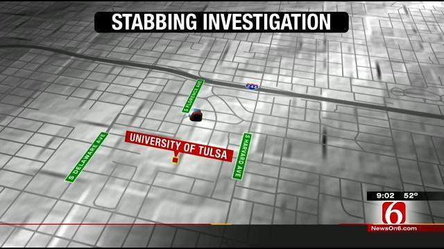 Police Investigate Stabbing Near University Of Tulsa