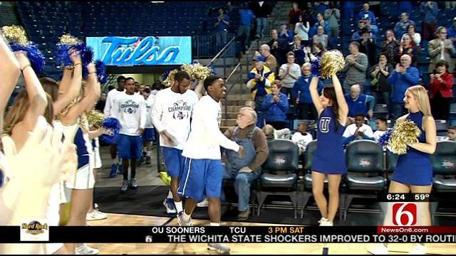 Tulsa Cuts Down The Nets
