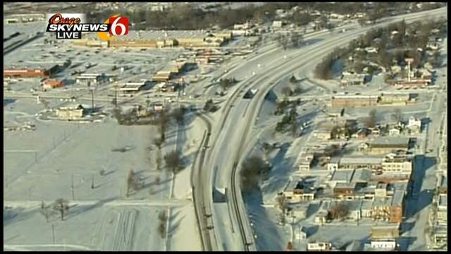 WEB EXTRA: Osage SkyNews 6 Flies Over Sand Springs