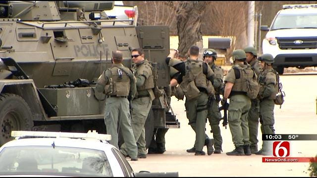 Claremore Standoff Ends Without Incident