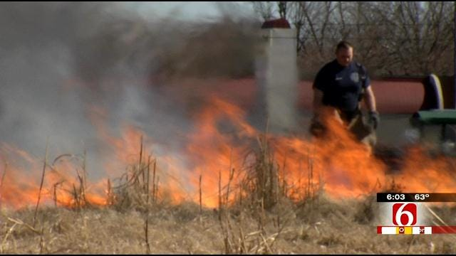 Burn Permits Decrease As Fires Increase In Oklahoma Counties