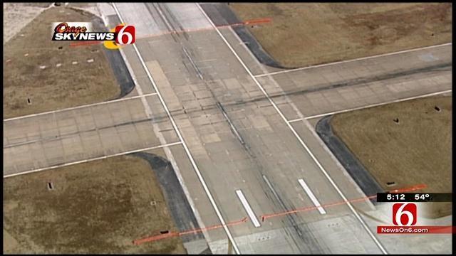 Final Phase Of Work Begins On Tulsa International Airport's Main Runway