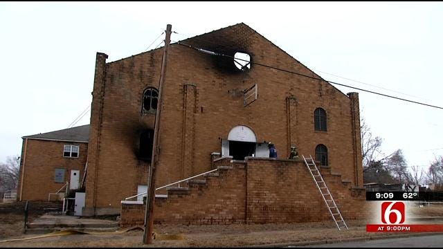 Congregation Member Remembers Tulsa Church, Destroyed By Arson