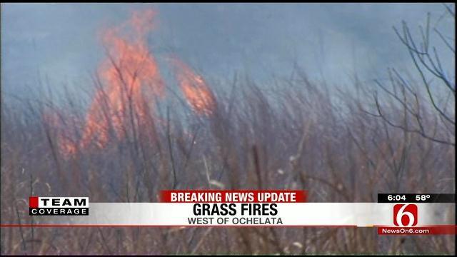 Massive Wildfire Under Control In Washington County