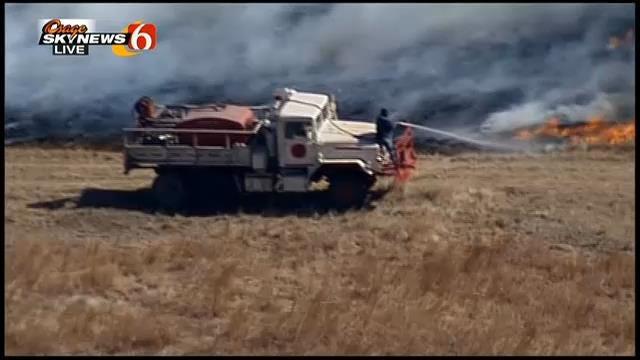 Osage SkyNews 6: Firefighters Battle Washington County Wildfire