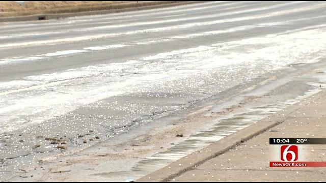 Tulsa Crews Work Around The Clock To Fix Broken Water Mains, More Expected
