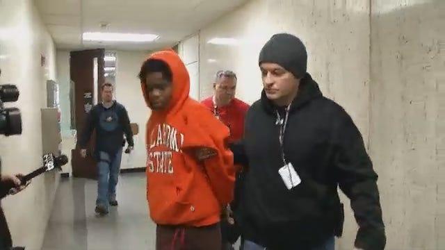 WEB EXTRA: Dayquan Williams In Police Custody