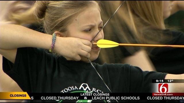Oklahoma Students Take Aim In Archery Shootout
