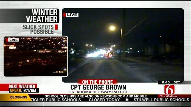 WEB EXTRA: Oklahoma Highway Patrol Captain George Brown