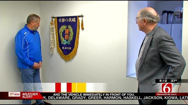 Oklahoma Soldier's WW2 Souvenir Returned To School In Japan