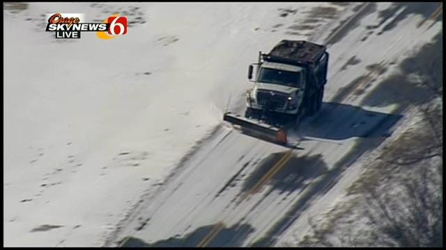 WEB EXTRA: Osage Skynews 6 Watches Snow Plow At Work