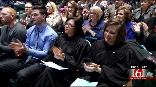 Tulsa Drug Court Graduates Celebrate Second Chance At Life