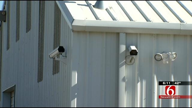 Rogers County Business Owner Hopes New Cameras Catch Burglar