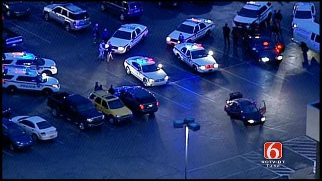 Osage SkyNews 6 Flies Over High Speed Chase