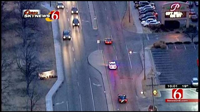 Tulsa Police Catch A Vehicle After High Speed Chase