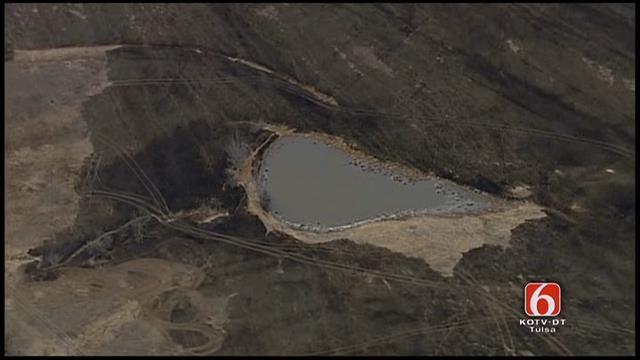 Osage SkyNews 6 Flies Over Inola Wildfire Damage
