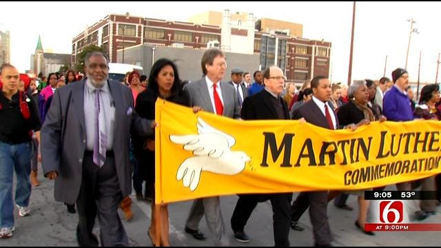 Tulsans 'Walk In Peace' To Remember Martin Luther King Jr.