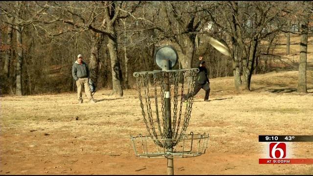 'Ice Bowl' Disc Golf Tournament Takes Over Tulsa
