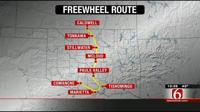 Oklahoma Freewheel 2014 Route Announced