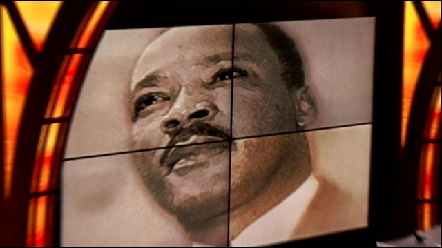 Student Honors Martin Luther King With Version Of Speech