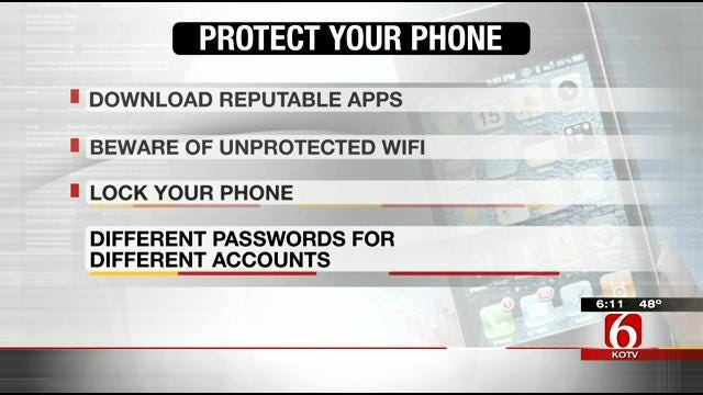 Experts Give Tips To Tulsans To Keep Phone From Being Hacked