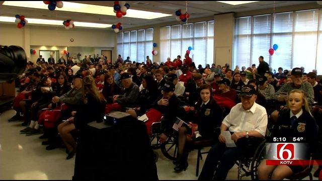World War 2 Veterans Honored In Claremore