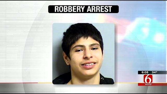 Police: Teen Uses Knife To Rob Cashier At Tulsa Store