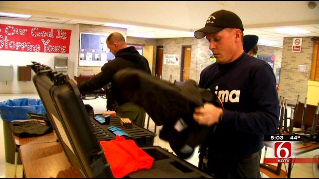 Wagoner Law Enforcement Agencies Train To Handle Active Shooter Situations