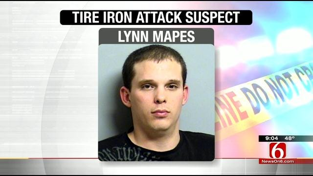 Tulsa Man Arrested For Reportedly Beating Roommate With Tire Iron