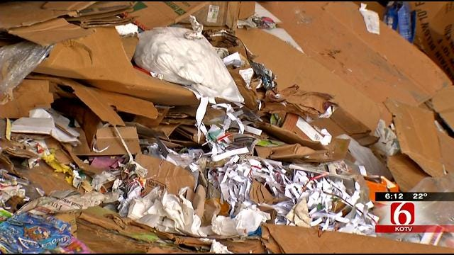 What Christmas Waste Can Be Recycled In Tulsa?