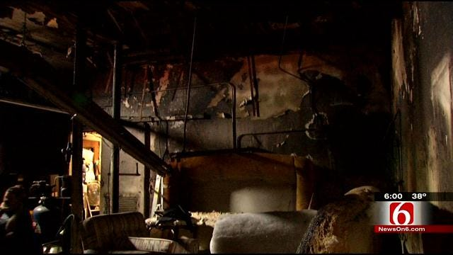 Tulsa Upholstery Store Damaged In Christmas Morning Fire