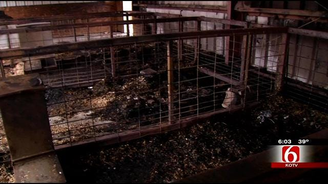 Oklahomans Show Kindness To Wagoner FFA After Barn Fire