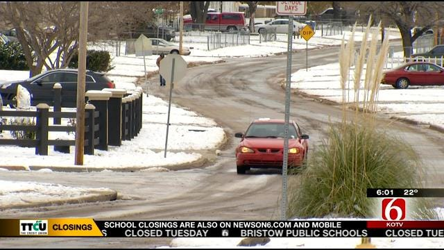 TPS Cancels Another Day Of Classes Due To Snowy Side Streets, Frigid Wind