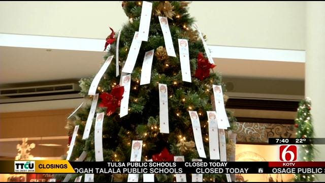 Salvation Army Angel Tree Shopping Time Running Low